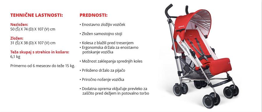 otroški vozički akcija