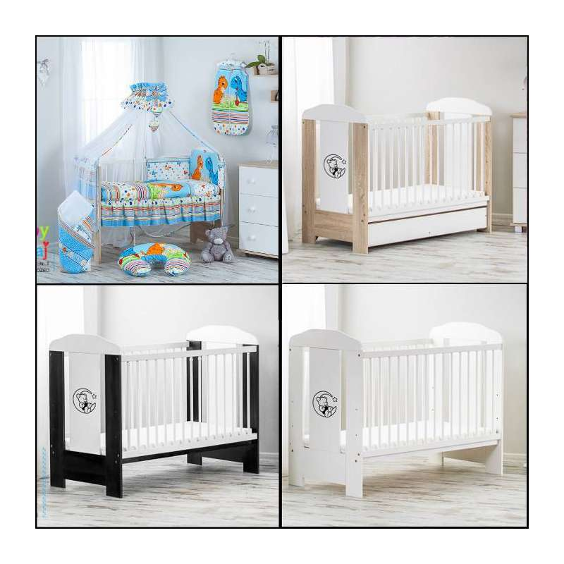 12-piece-bears-cot-with-drawer-mattress (1)