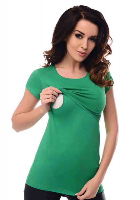 zelena-majica-za-dojenje