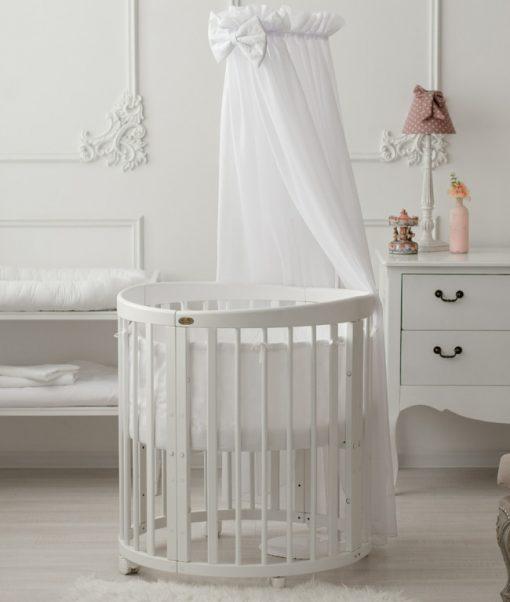 posteljica za dojenčka s posteljnino