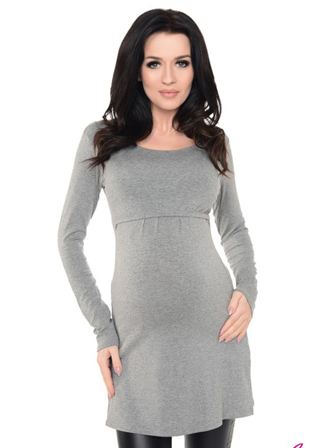 2in1-maternity-nursing-scoop-neck-tunic-breastfeeding-7021-dark-gray-melange