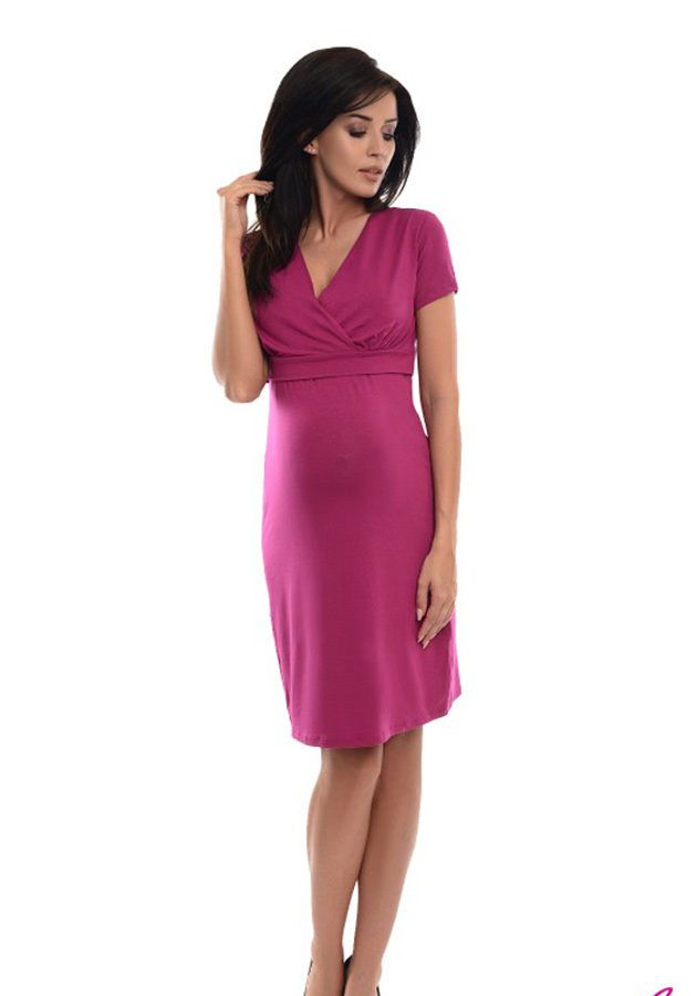 purpless-maternity-2in1-pregnancy-and-nursing-casual-dress-7208-dark-pink-(1)