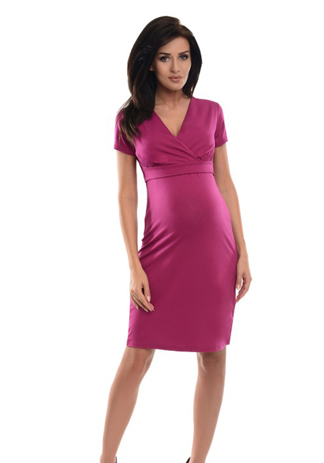 purpless-maternity-2in1-pregnancy-and-nursing-casual-dress-7208-dark-pink