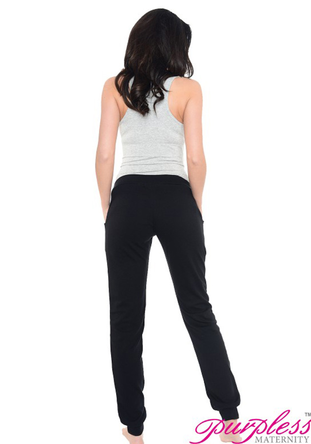 purpless-maternity-pregnancy-under-bump-joggers-trousers-1314-black-(2)