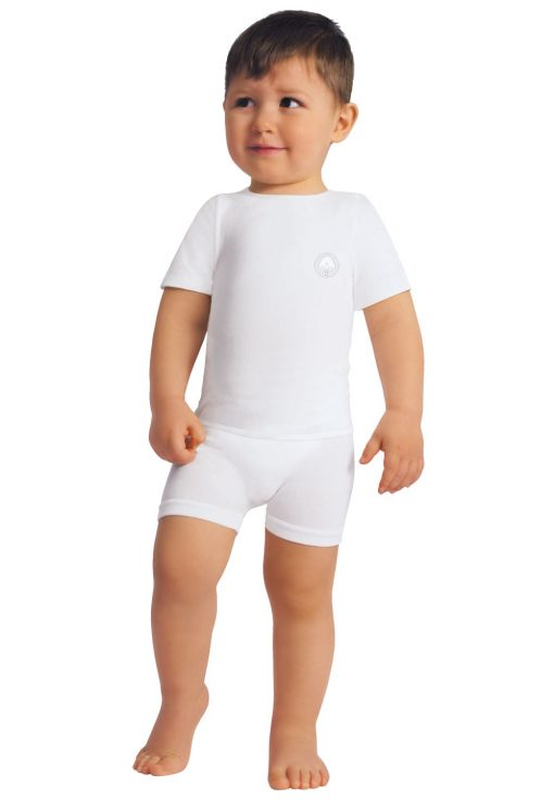 Bela majica za malčka