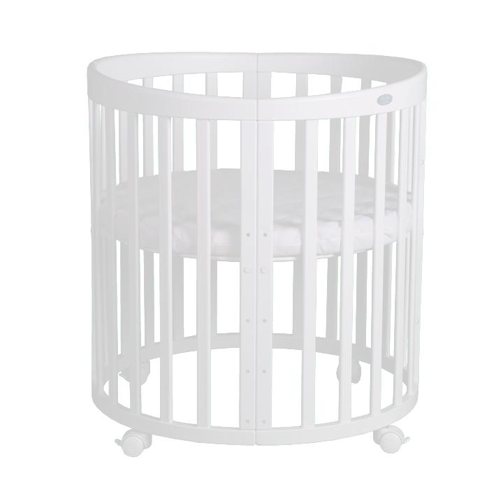 Okrogla posteljica za novorojenčka